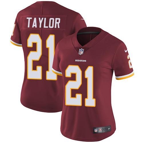 cheap soccer jerseys 18/19 Women\'s Washington Redskins #21 Sean ...