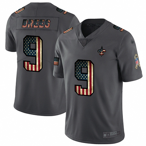 wholesale jerseys china us Men\'s New Orleans Saints #9 Drew Brees ...